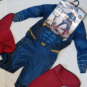 Superman Child Costume New Size Large Size 12-14